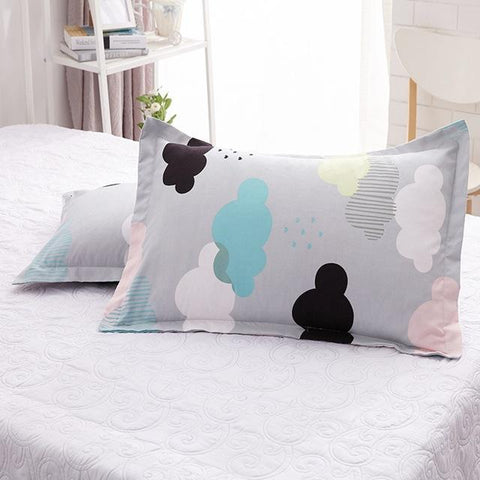 Pillow Cases - Pillow Case Cover With Cat Pattern Print Simple Style Cartoon Pillow 48x74cm