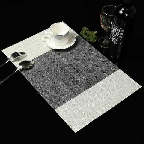 Place Mat - 4 Pcs Dining Table Place-mat Europe Style