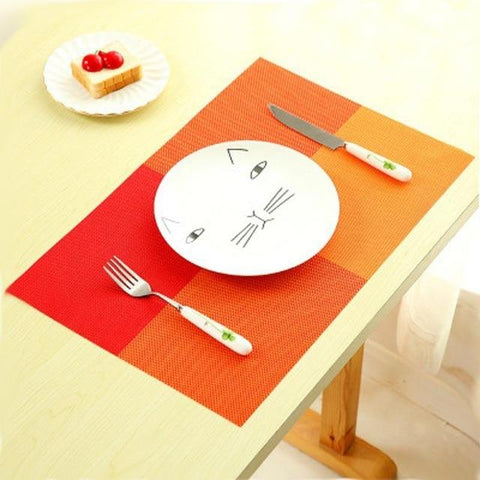 Place Mats - Silicone Dining Table Placemats