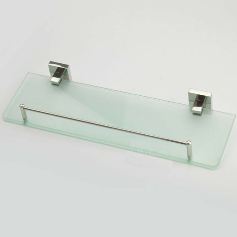 Glass Shower Shelf Ideal For Bathroom Vanity Stainless steel Shelve wall mounted