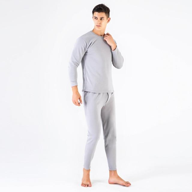 a158178344 ... Thermal Underware - Winter Couple Warm Thermal Underwear Set For Women    Men Layered Clothing Cashmere ...