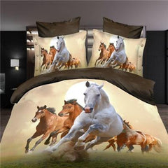 3d wolf  king/queen/twin size 3/4pcs bedding set