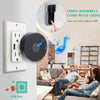 Image of Video Doorbell WiFi Smart Camera With Chime, Two-Way Audio