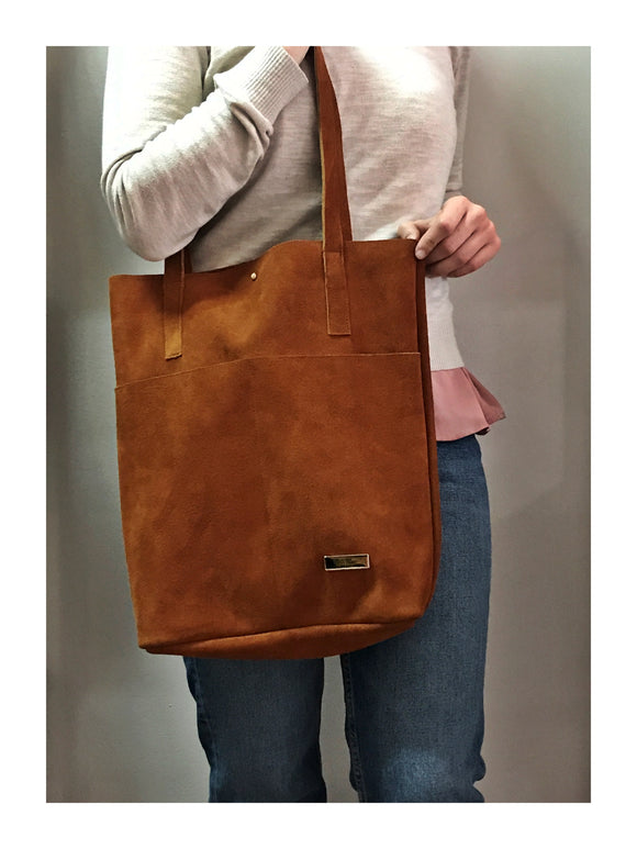 Hadija Leather Tote