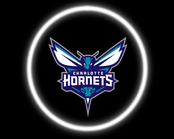 2 Wireless LED Laser Charlotte Hornets Car Door Lights