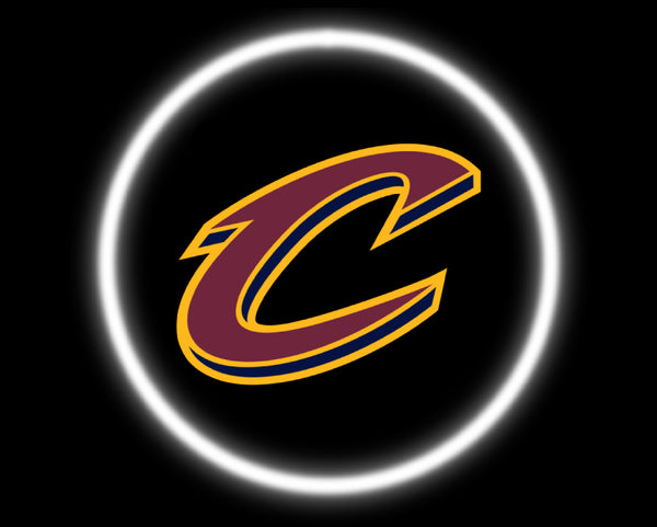 2 Wireless LED Laser Cleveland Cavaliers Car Door Lights