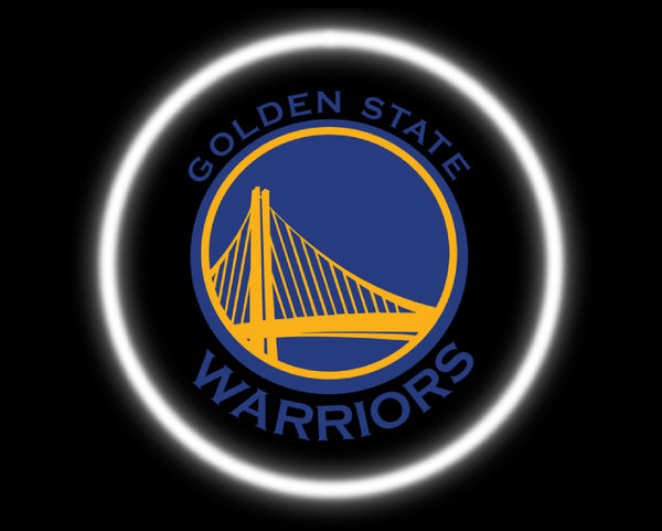 2 Wireless LED Laser Golden State Warriors Car Door Lights