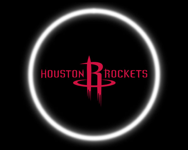 2 Wireless LED Laser Houston Rockets Car Door Lights