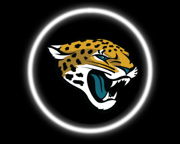 2 Wireless LED Laser Jacksonville Jaguars Car Door Lights