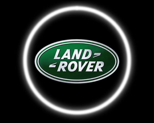 2 Wireless LED Laser Land Rover Car Door Lights