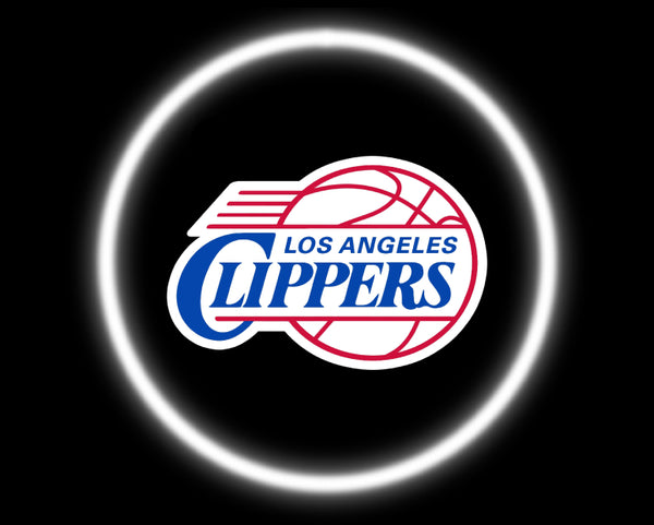 2 Wireless LED Laser Los Angeles Clippers Car Door Lights