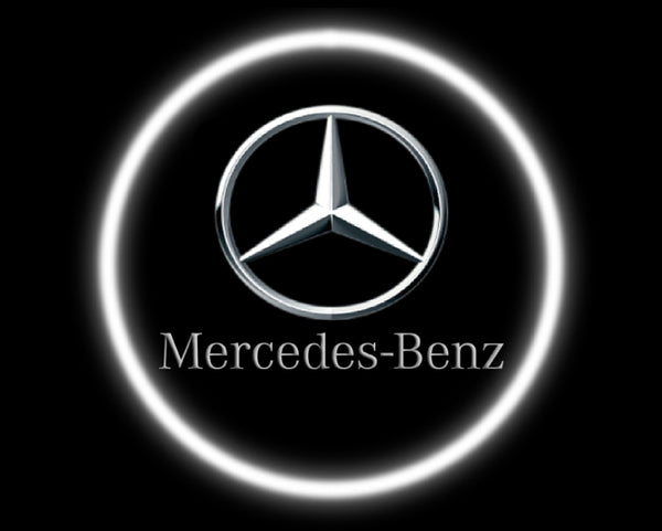 2 Wireless LED Laser Mercedes-Benz Car Door Lights