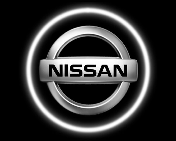 2 Wireless LED Laser Nissan Car Door Lights