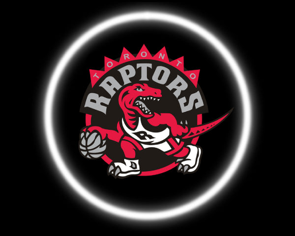 2 Wireless LED Laser Toronto Raptors Car Door Lights
