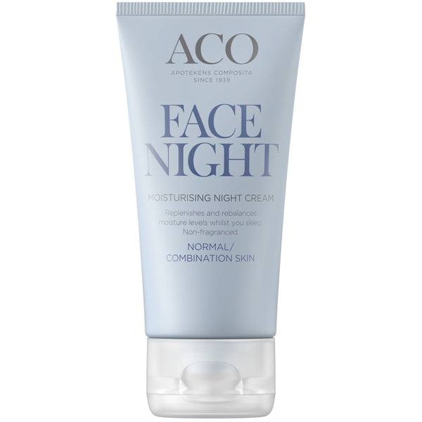 ACO Face Moisturising Night Cream 50 ml yövoide