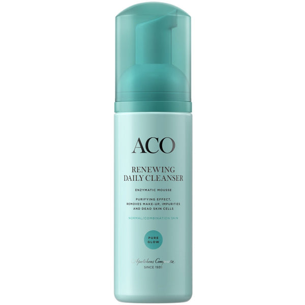 ACO Face Pure Glow Renewing Daily Cleanser 150 ml puhdistusvaahto