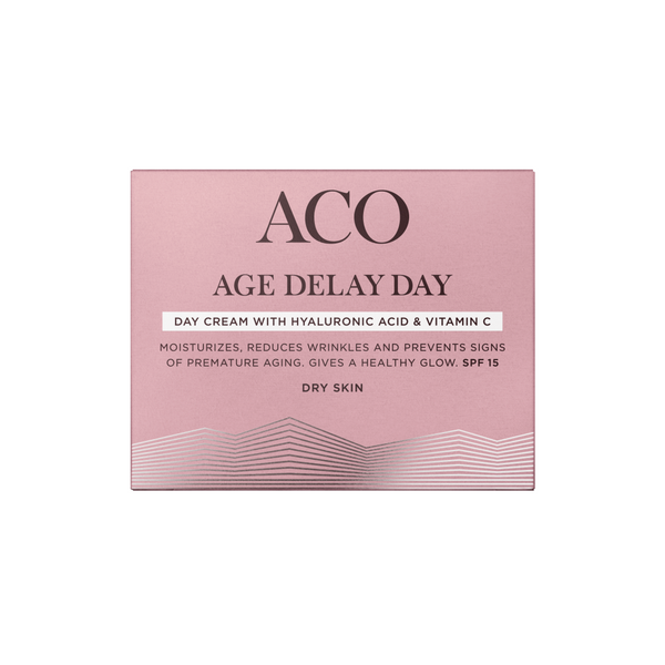 ACO Age Delay Day Cream 50 ml kuivalle iholle