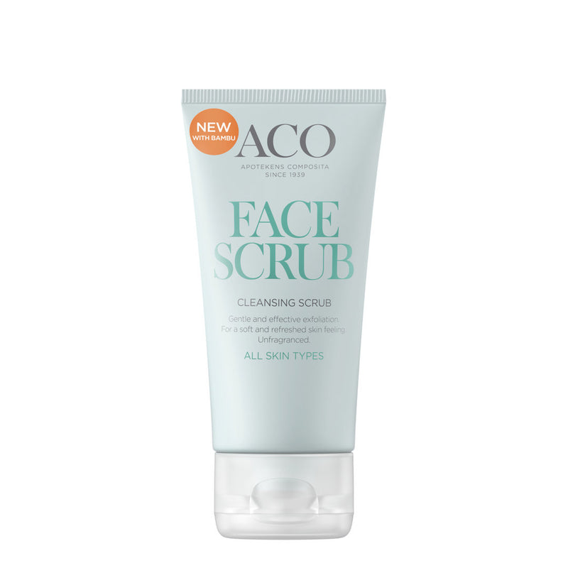 ACO Face Cleansing Scrub 50 ml kuorintavoide