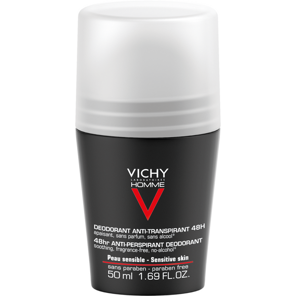 Vichy Homme Sensitive 48 h Roll-On 50 ml