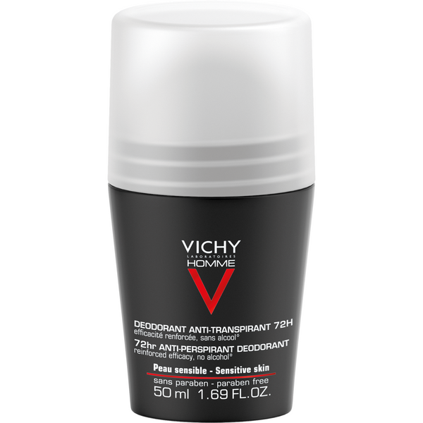 Vichy Homme Antiperspirantti 72 h Roll-On 50 ml