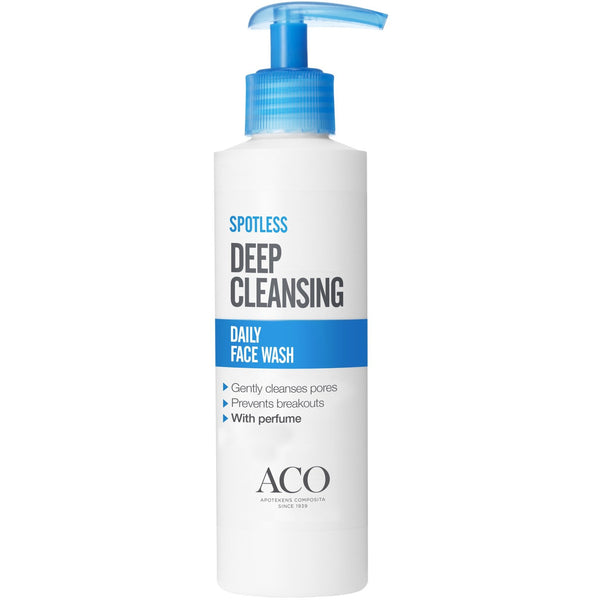 ACO Spotless Daily Face Wash 200 ml puhdistusgeeli