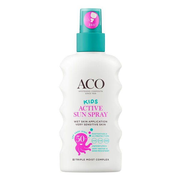 ACO Sun Kids Active Sun Spray 175 ml