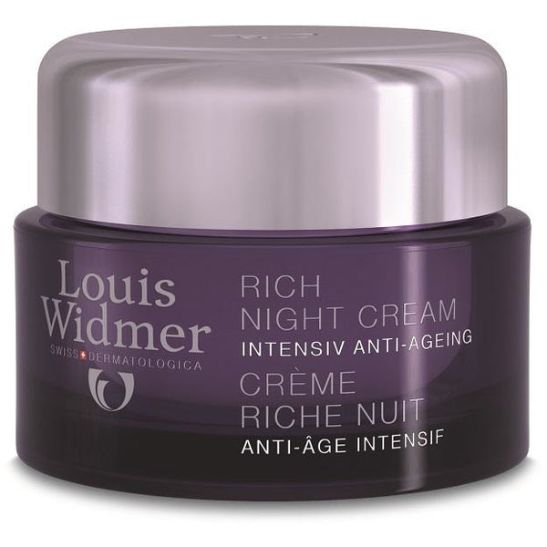 Louis Widmer Rich Night Cream 50 ml yövoide