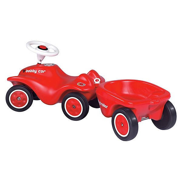 NEW BIG BOBBY CAR 56280 Trailer Red