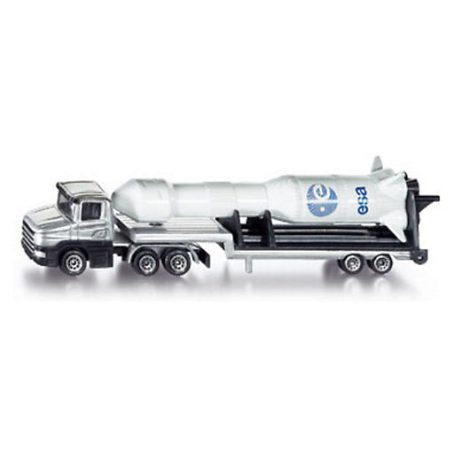 SIKU 1614 Low Loader with Rocket 1:55