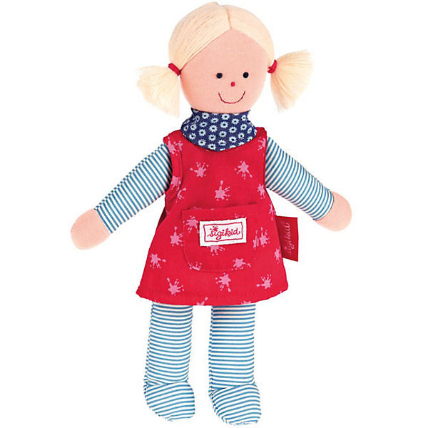 Sigidolly: Doll, Red/Blue, 29 cm