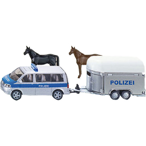 SIKU 2310 Police Vehicle with Horse Trailer  1:55
