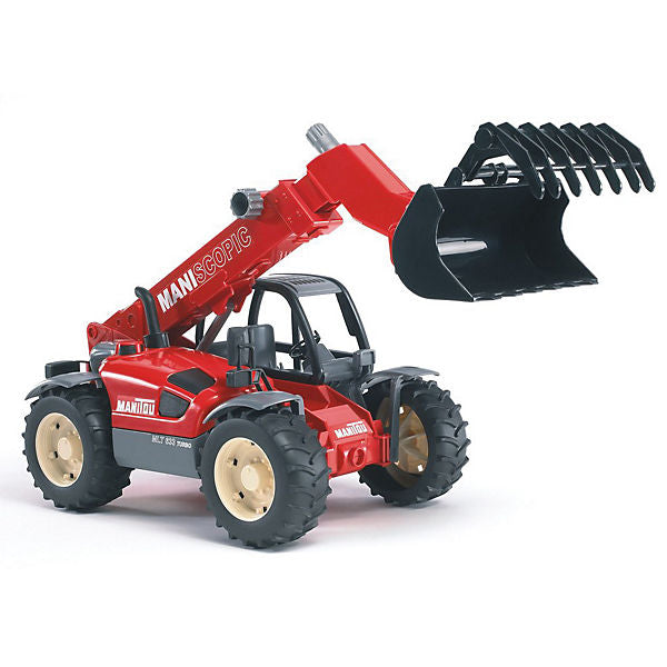 BRUDER 02125 PS Manitou Telescopic Loader MLT 633
