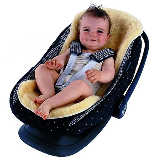 Sheepskin stroller liners and rugs