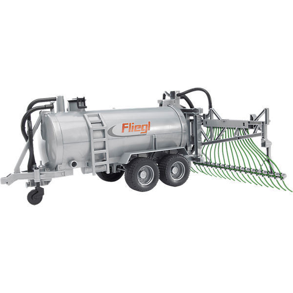 BRUDER 02020 Fliegl Barrel Trailer with Spreader Tubes