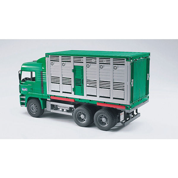 BRUDER 02749 MAN Cattle Transportation Truck including 1 Cow