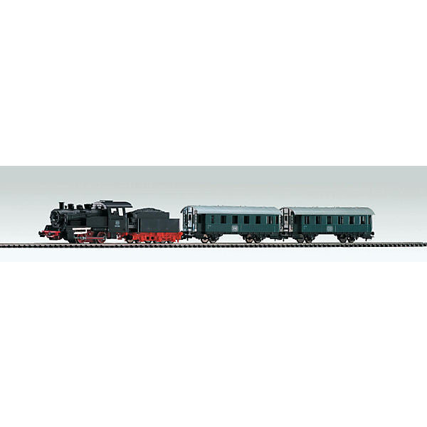 Starter Set Steam Loco with Tender with Coaches