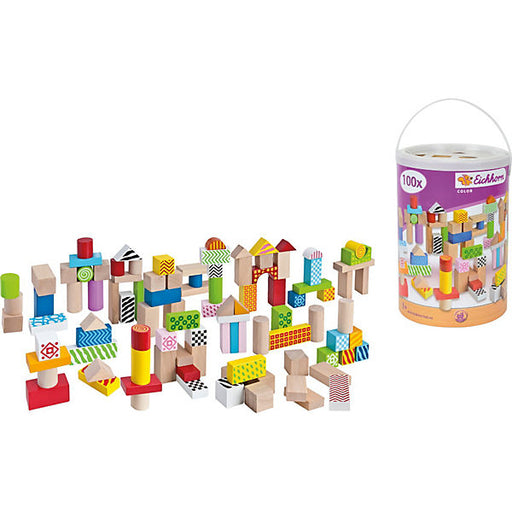 Color Wooden Building Blocks