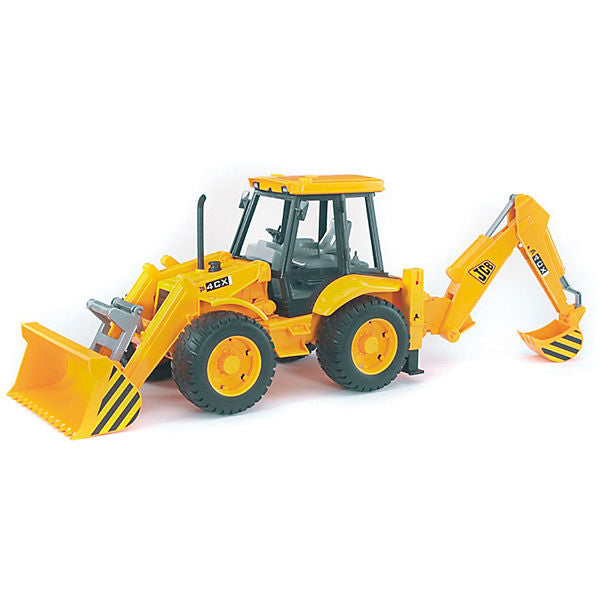 BRUDER 02428 JCB Backhoe Loader 4CX
