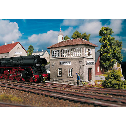 PIKO H0 Gauge Construction Set Burgstein Signal Box
