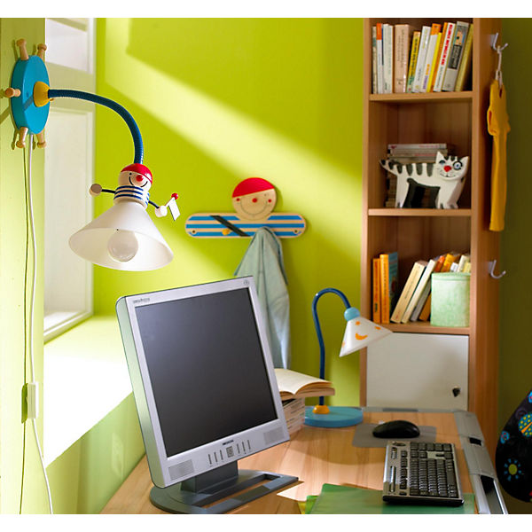 Pirate Wall Reading Light