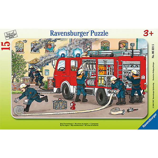 Frame Jigsaw - 15 Pieces - My Fire Engine