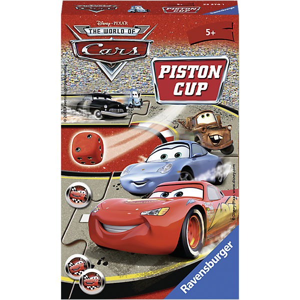Disney Cars carry-along game: Piston Cup