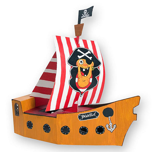 Blank Pirate Ship Craft Kit