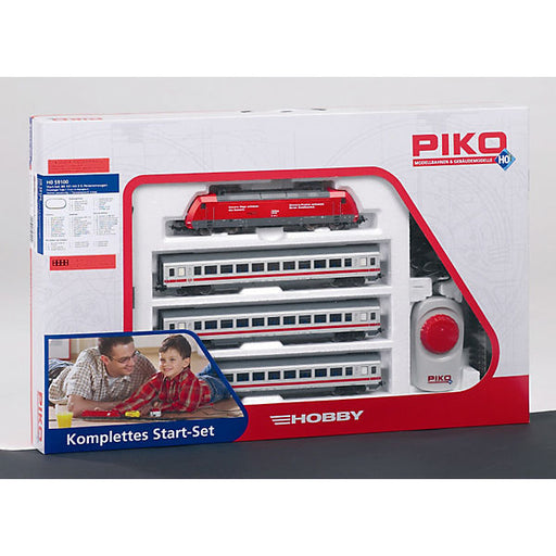 Starter Set Passenger Train BR 101 with 3 IC Passenger Cars