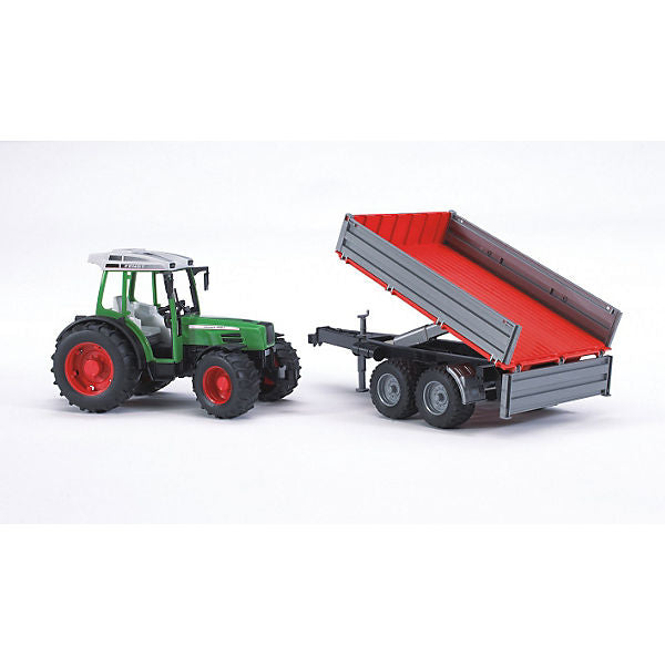 BRUDER 02104 Fendt 209 S With Tipping Trailer