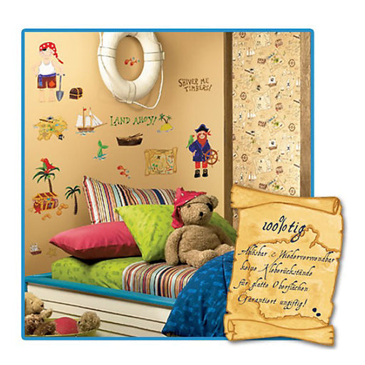 Sticky Motifs 45-piece Junior Pirates