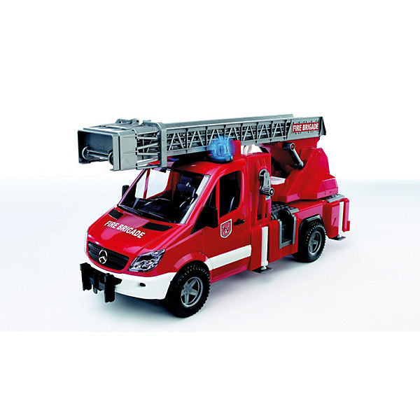 BRUDER 02532 MB Sprinter Fire Truck Turnable Ladder