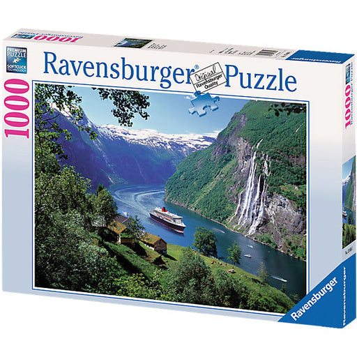 Jigsaw - 1,000 Pieces - Norwegian Fjord
