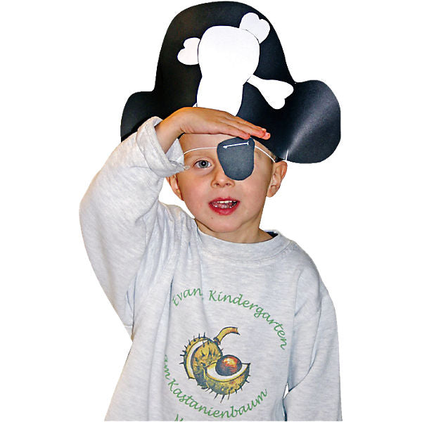 Pirate Hat & Eye Patch Craft Kit