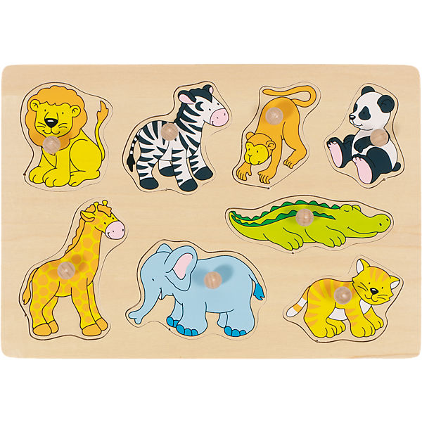 Insert Puzzle, Zoo Animals